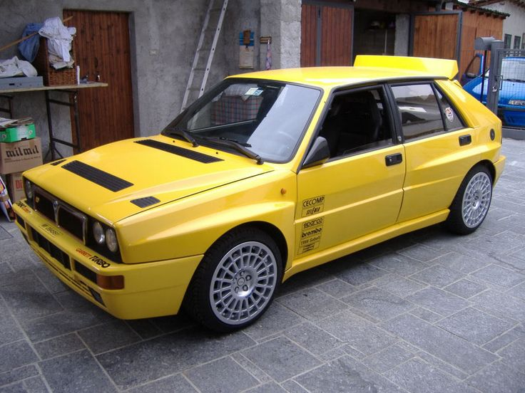 Lancia Delta Integrale   Want more cars? Check out my face book page at https://www.facebook.com/pages/Cars-Fanatics/400966179995349  Thanks!