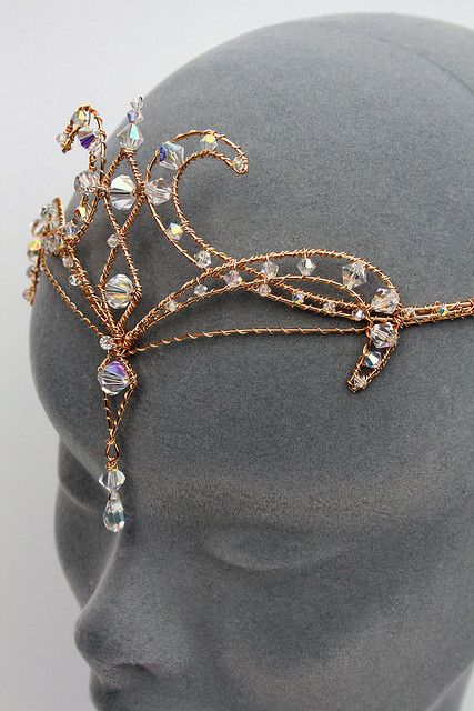 Headdresses Pagan Wicca Witch:  Faery #circlet.