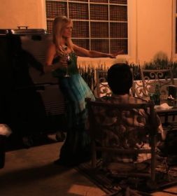 Tamra's OC Wedding: Tamra Barney's Blue & Green Tie Dye Maxi Dress | Big Blonde Hair : Big Blonde Hair DETAILS HERE: http://www.bigblondehair.com/real-housewives/rhoc/tamras-oc-wedding-tamra-barneys-blue-green-tie-dye-maxi-dress/