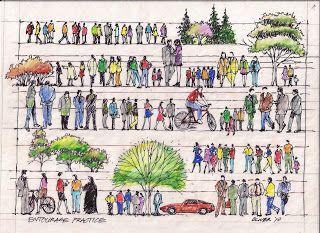 Tim Oliver's Sketchbook: Entourage Practice