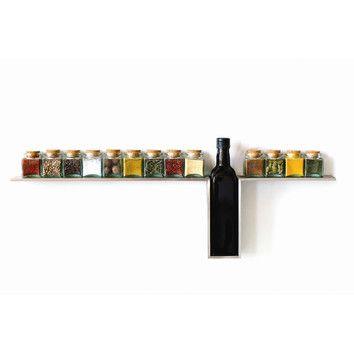 13 Jar Spice Jar & Rack Set