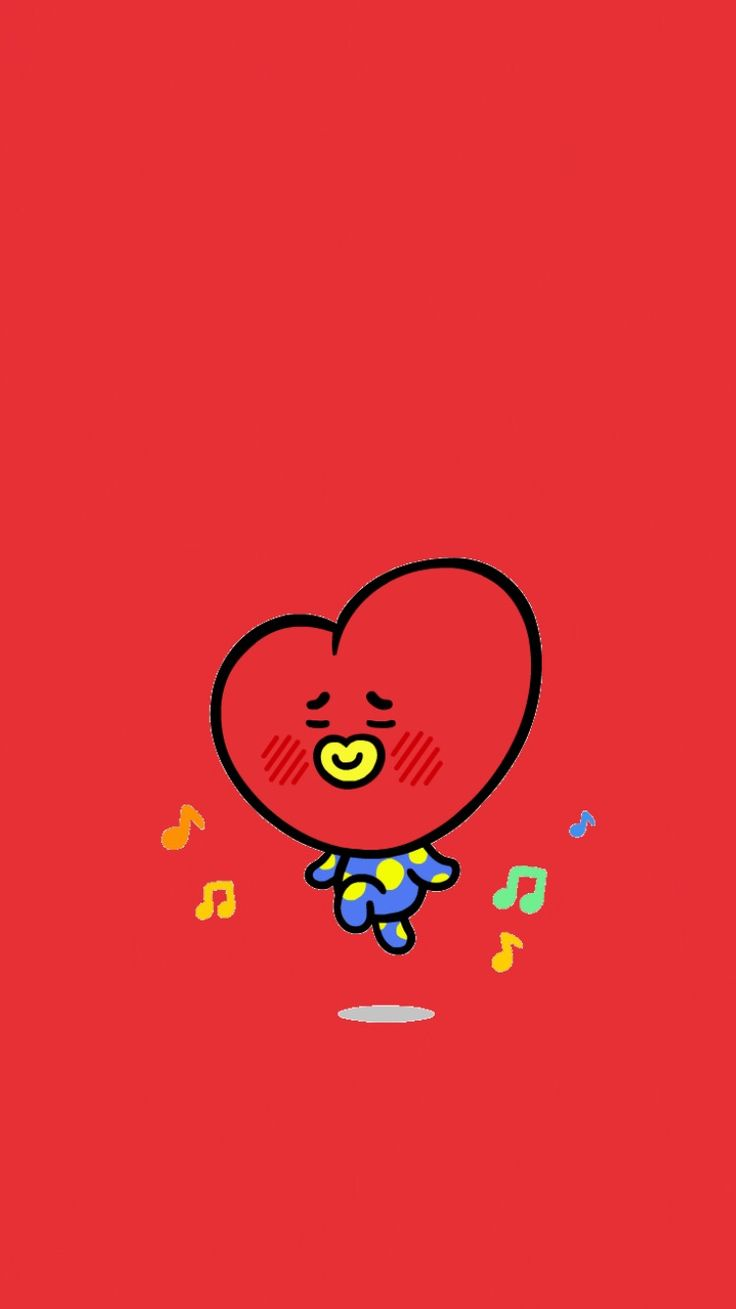 BTS TATA WALLPAPER KIMTAEHYUNG V BT21 | do not repost on pinterest |