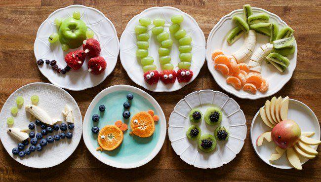 8 entretenidas meriendas con frutas