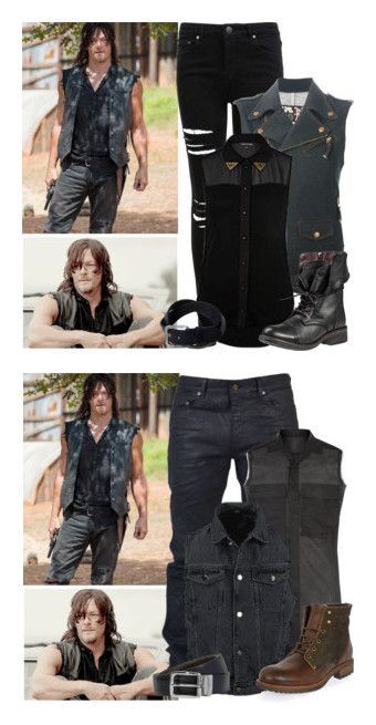 """""""The Walking Dead - style"""" by bebe6121985 on Polyvore featuring men's fashion and menswear"""