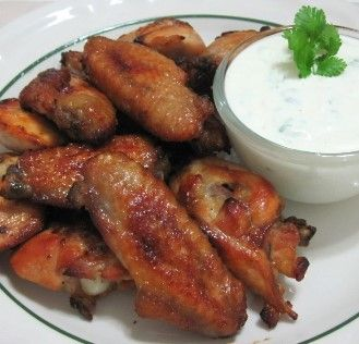 Baked Buffalo Wings with Blue Cheese Dip (Atkins Diet Phase 1 Recipe) | Diet Plan 101