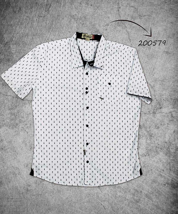 camisa-hombre-manga-corta-color-blanco-shirt-short-sleeves-white-color-