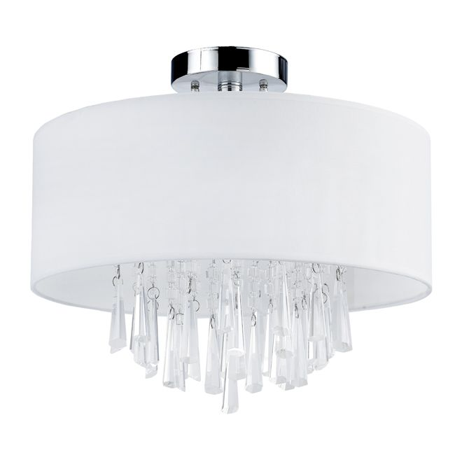 Semi flush mount lighting for dining room from rona