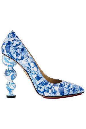 Китайские вазы:Туфли из осенней коллекции Charlotte Olympia
