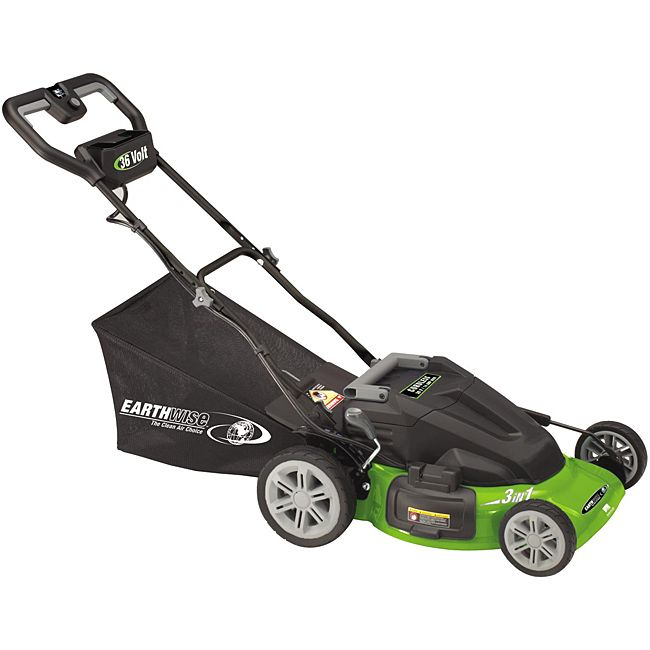 Earthwise New Generation 20-inch 36-volt Cordless Lawn Mower