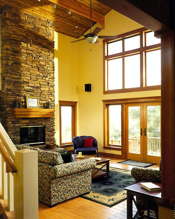 "Craftsman Style Home Decorating Ideas: Freidman Lodge ""Fir Tree House"" Images On"