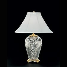 17 best table lamps images on pinterest buffet lamps waterford new waterford crystal kilkenny brass 29 table lamp free shipping 1st quality aloadofball Image collections