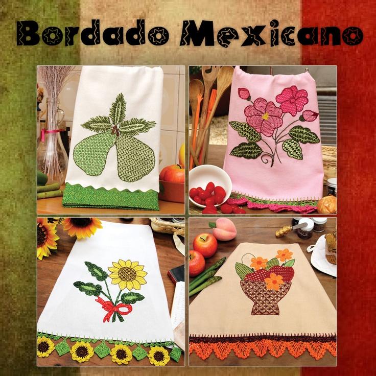 Peças exclusivas criadas pela artesã Valquiria Campanelli com a técnica de Bordado Mexicano.