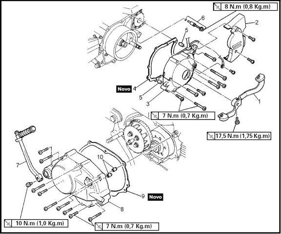 ::  Yamaha Crypton T105 - tutorial de Desarme completo