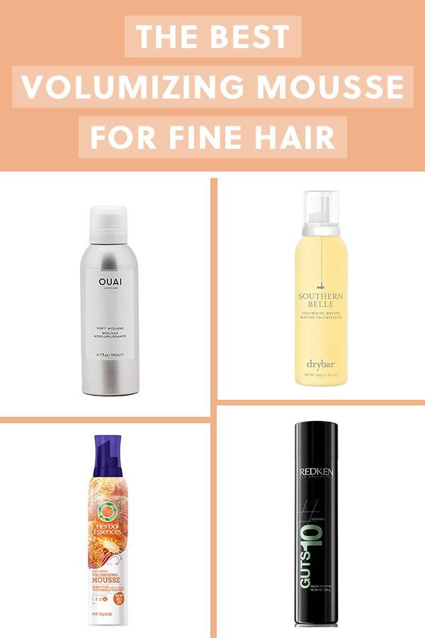 The Best Volumizing Mousses To Take Fine Hair To The Next Level Beautifulhairstyleseveryda Best Volumizing Mousse Volumizing Mousse Fine Hair