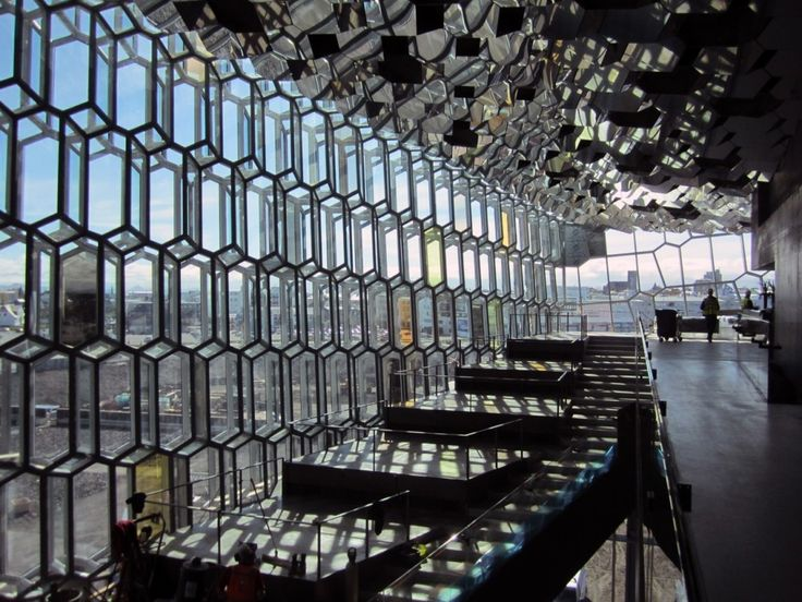 Facade of Harpa Concert Hall and Conference Centre | Henning Larsen Architects.