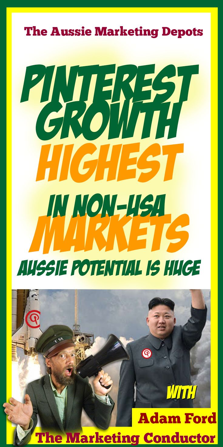 #Pinterest #Growth Strongest in Non-US #Markets - Australian growth potential is huge for the social media platform