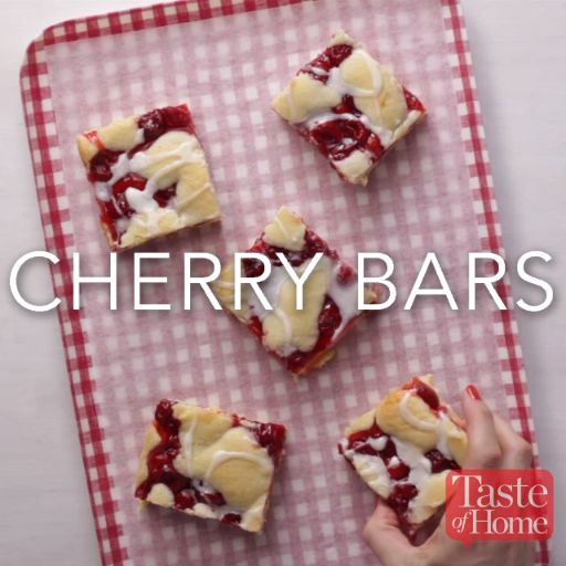 Cherry Bars Recipe