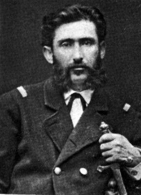 Augusto Orrego Cortés, Capitán del Regimiento de Zapadores
