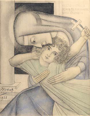 Jan Toorop, Terugvinding - 1925