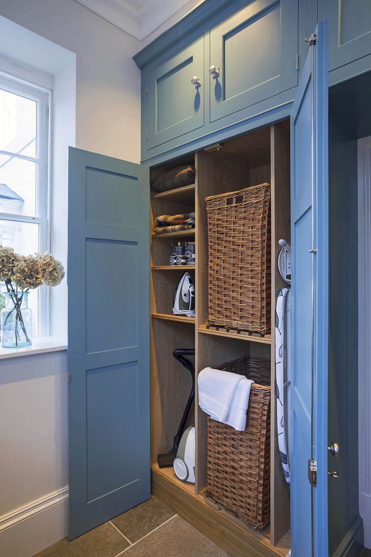 A well designed utility or boot room area with considered storage solutions can significantly improve your day to day living.