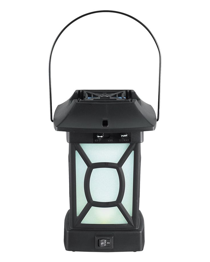 Great Mosquito Repellent Patio Lantern #ThermaCELL #frontporch #lantern  One  Lantern Takes Care Of