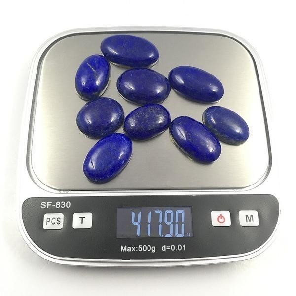 417.90 Carat , Oval Cut, 9 Gems Lapis Lazuli Cabochon