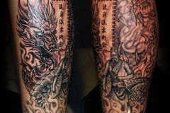 A Japanese Tattoo is always a perfect choice for an arm tattoo