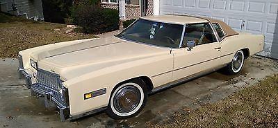eBay: 1976 Cadillac Eldorado Classic Collector Car Low Miles Classic Cadillac Eldorado 1976 #classiccars #cars