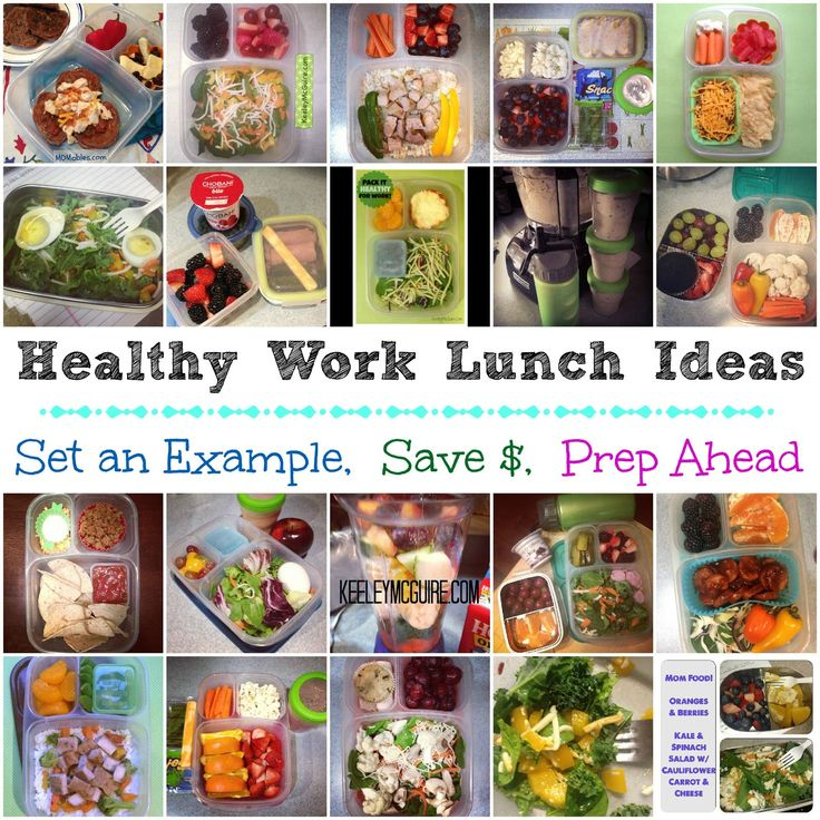 Lunch Made Easy: Healthy Work Lunches for Mom {or Dad}