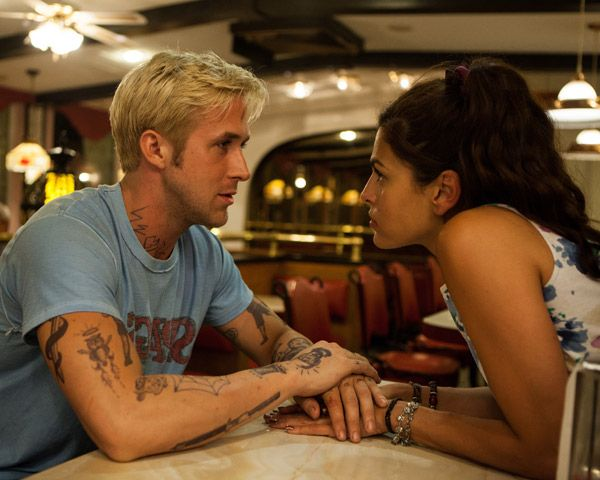 The Place Beyond the Pines - Ryan Gosling on Eva Mendes