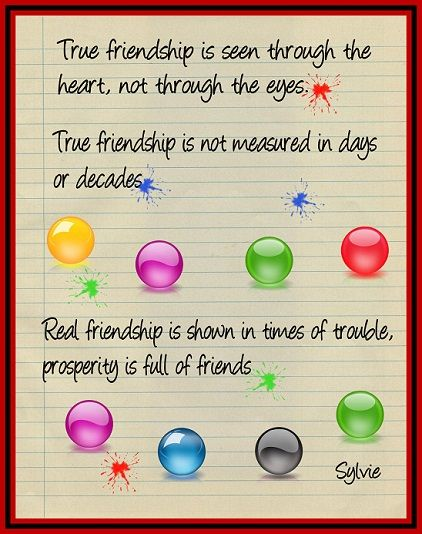 30 Heart Touching Friendship Quotes | A House of Fun