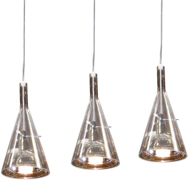 Replica Franco Raggi Flute 3 Pendant Lamp main image
