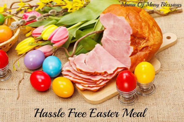 #HoneyBakedEaster from the Honey Baked Ham company is the perfect way to have a hassle free Easter Meal. Also get entered to win 1 of 20 $50 Honey Baked Ham Gift Cards!!
