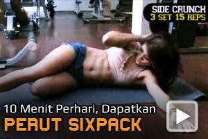 Video: Latihan 10 menit Per Hari, Dapatkan Perut Sixpack?native=1