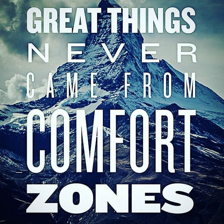 Great things never come from comfort zones #inspirational #quotes #yogainspiration