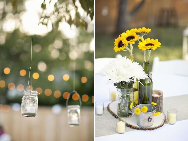 Outdoor Backyard Wedding Nashville Small Budget Diy $5000; Day Of  Coordination By @Hillary Capes