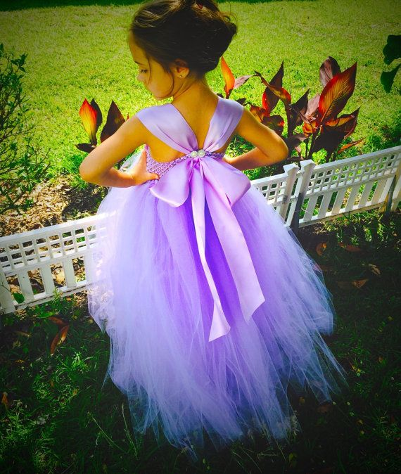 Maybe order this for Haylie? Lavender Orchid Flower Girl Dress lavender by SoCutsieTootsie