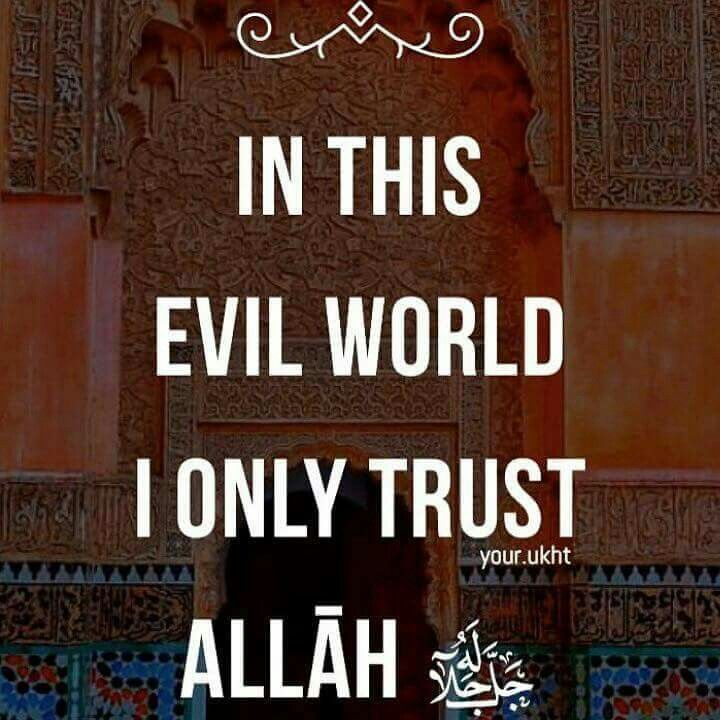 Trust In Islam Quotes: 1000+ Images About Islam On Pinterest