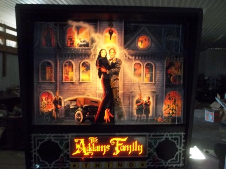 Rare ~ Clean ~ Addams Family Pinball ~ Coin Op Arcade ~ Man Cave ~ Bally