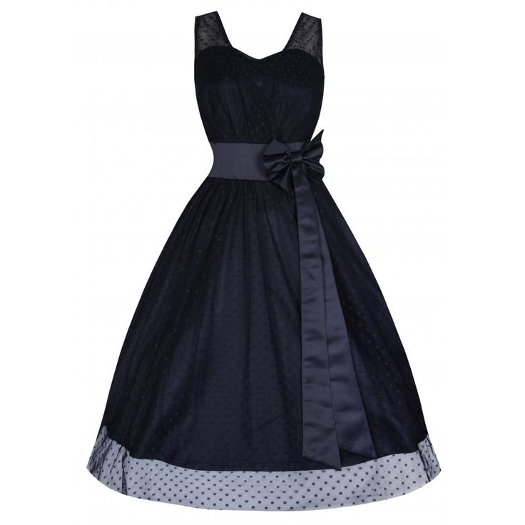 Ella Midnight Blue Ball Gown Vintage Inspired Fashion