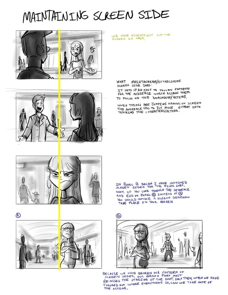 Best Story Board Technique Images On   Animation