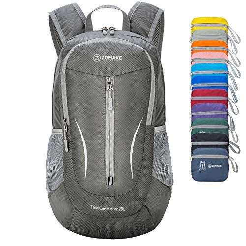 ae2428926622 ZOMAKE Ultra Lightweight Packable Backpack, 25L Small Water ...
