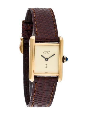 Must De Cartier Argent Watch