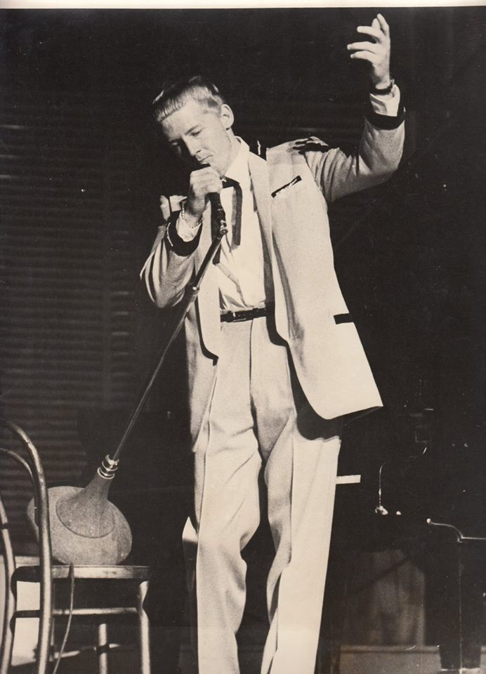 Jerry Lee Lewis aka The Killer   Roger Melvin cousin to Jerry lee Lewis