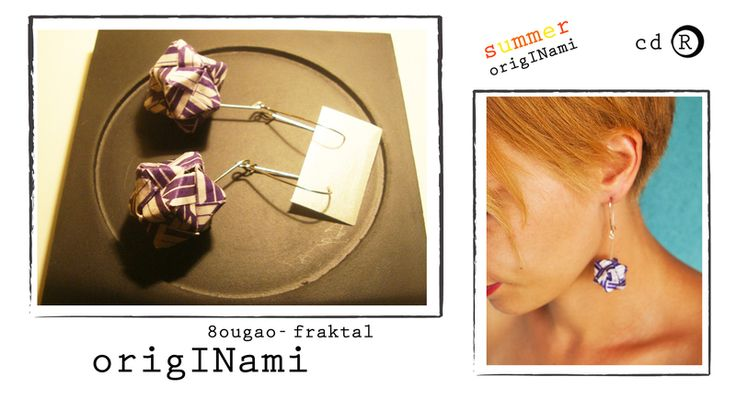 8ugao earrings from manufaktura cdR by DaWanda.com
