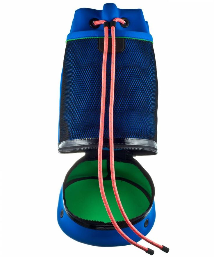 @Alex Jones Bel Schouler Neoprene Bag - Bag can be worn on one shoulder or as a backpack. Made in Italy.