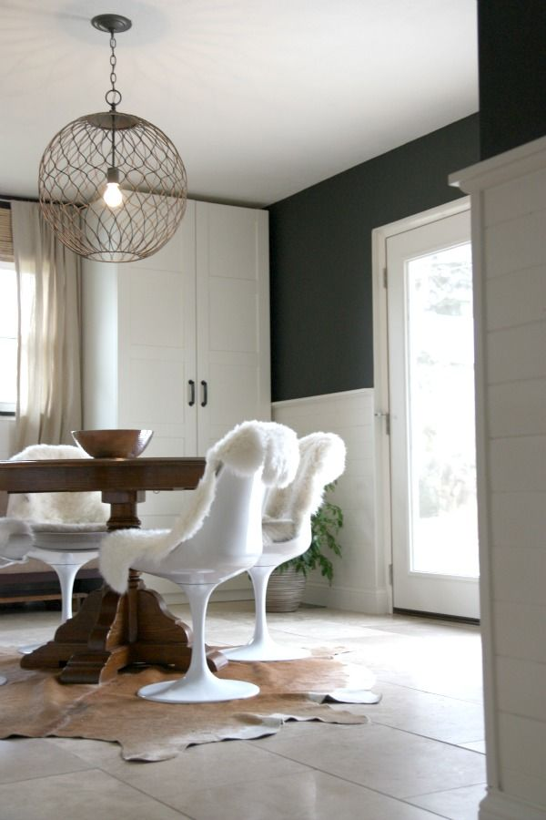 Best ℋavℯ A ℂow Images On Pinterest Black Living Room And - Cowhide and sheepskin rugs bathroom