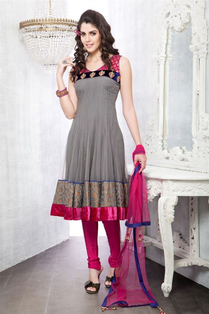Designers Anarkali Salwar Suits 2014 UK - Fashion and Style