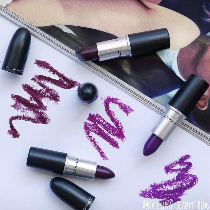 """ Perfect lipsticks for Fall  MAC Hang Up, Rebel and Herione. """