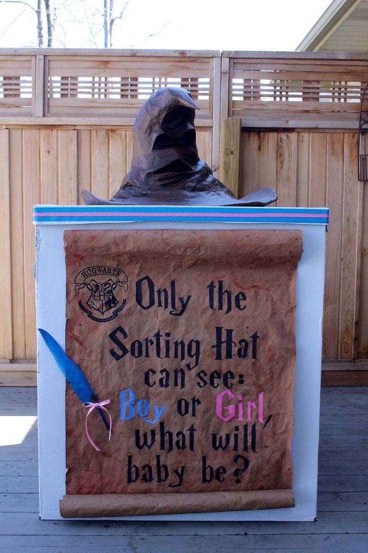 Harry Potter gender reveal box